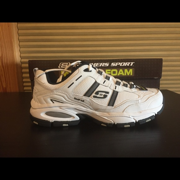 mens skechers shoes with memory foam